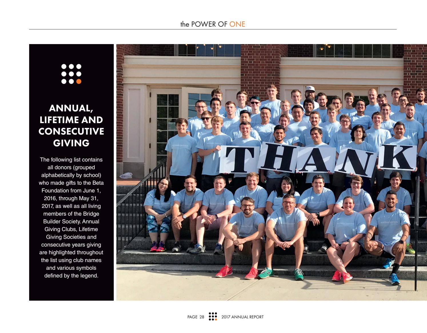 2017 beta theta pi foundation annual report by beta theta pi - issuu