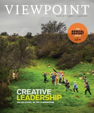 Viewpoint Magazine Summer 2017 and Annual Report 2016-17 by