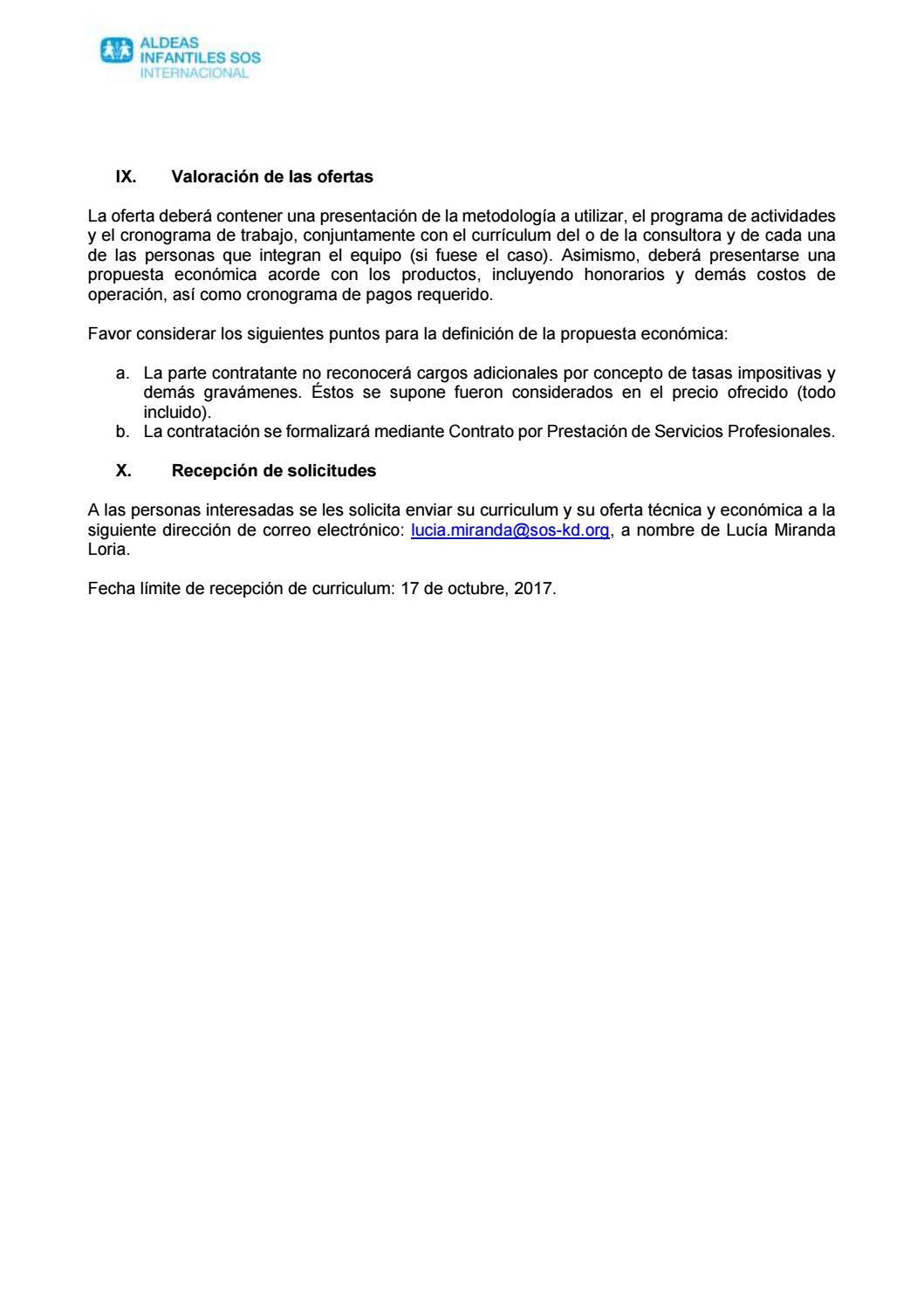 TDR prevención y abordaje suicidio by Aldeas Infantiles SOS ...