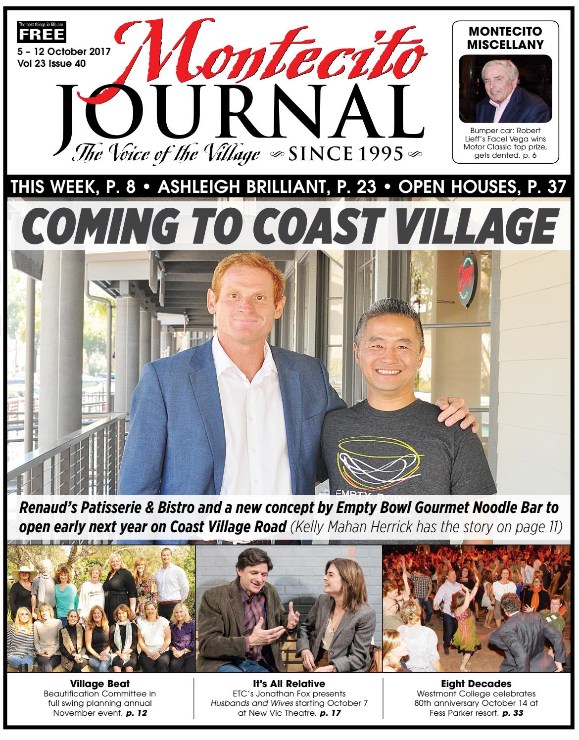 Coming to Coast Village by Montecito Journal - issuu