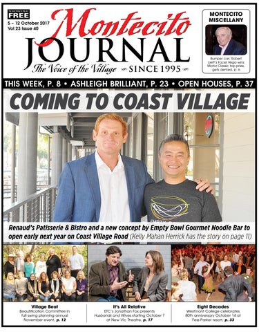 Coming To Coast Village By Montecito Journal Issuu