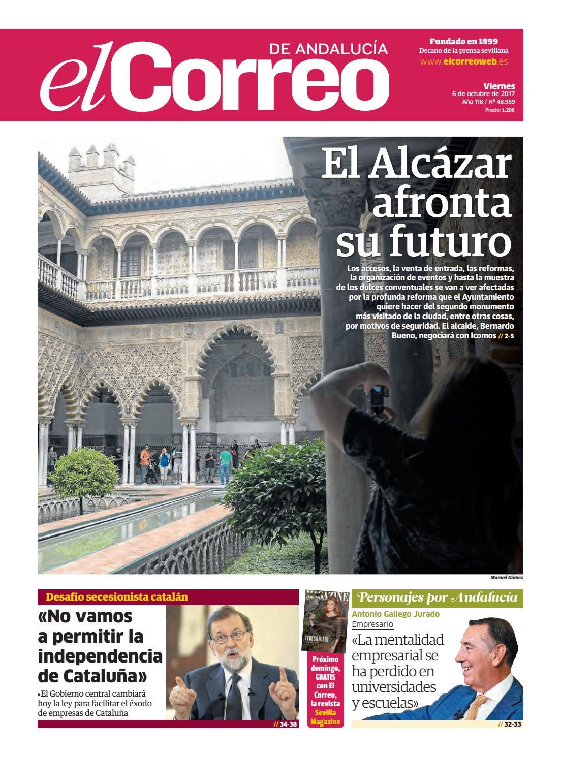 164506e91 06.10.2017 El Correo de Andalucía by EL CORREO DE ANDALUCÍA S.L. - issuu