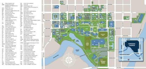 Campus Map 2017 by Gonzaga University issuu