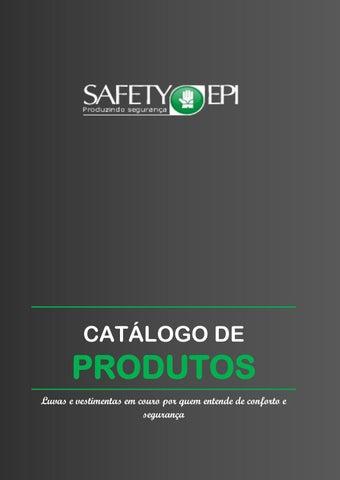 5c3857bb5cb5f SAFETY EPI Catálogo de Produtos Edição  2017-2018 by Dio - issuu
