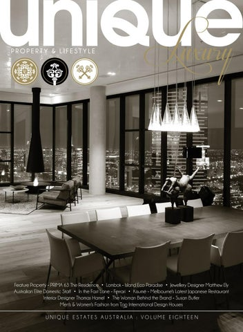 768a8ca85a3 Unique Luxury Magazine - Volume 18 by Unique Estates Australia - issuu