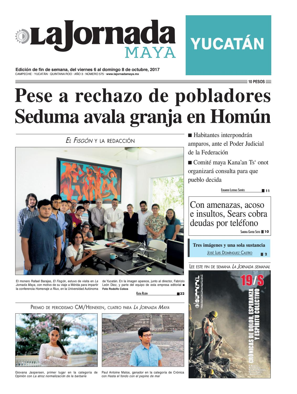 La Jornada Maya · 6 de octubre, 2017 by La Jornada Maya - issuu
