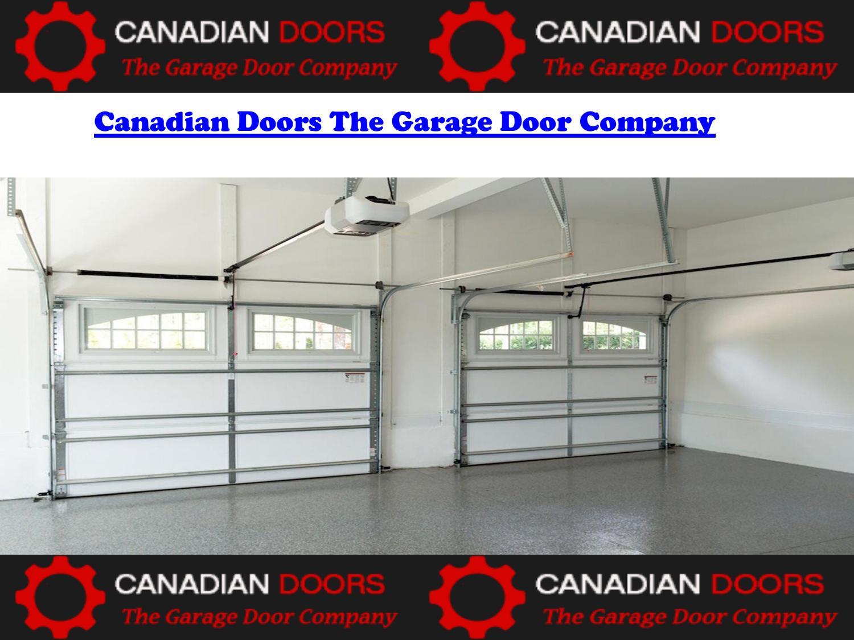 sc 1 st  Issuu & Canadian doors the garage door company by Canadian Doors - issuu
