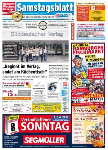 Samstagsblatt West ePaper KW 40 2017 by Wochenanzeiger