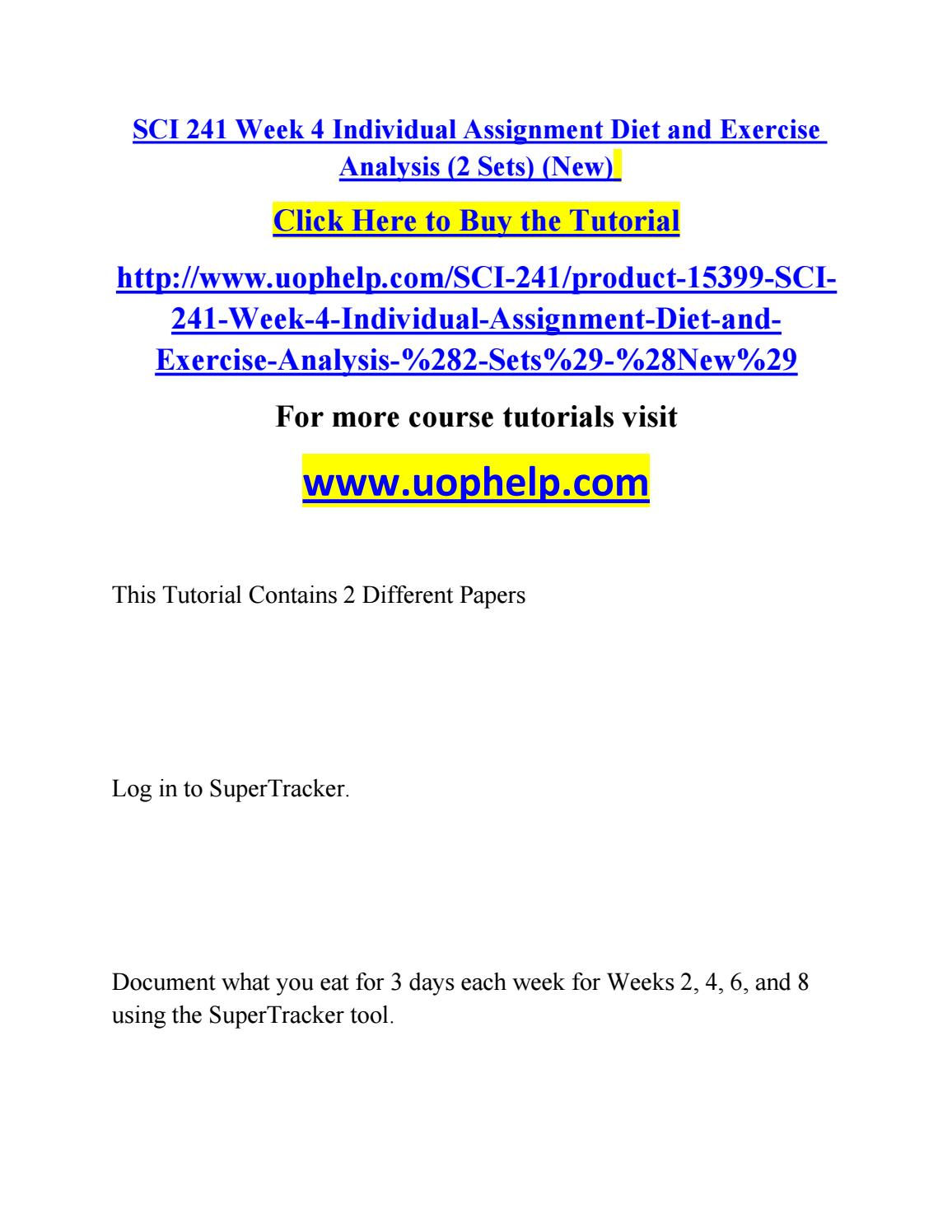 sci 241 Homeworkflip is a online tutorial store we provides sci 241 week 3 dq 1 and dq 2.