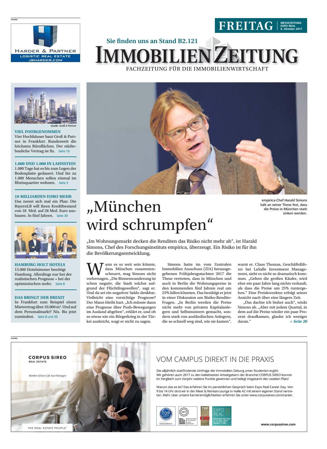 6790417e8757fc 06 10 messezeitung by Immobilien Zeitung Verlagsgesellschaft mbH - issuu