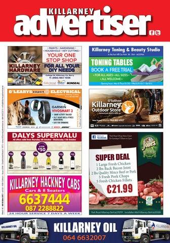 Killarney Advertiser 6th October 2017 by Killarney Advertiser - issuu 8118793064f