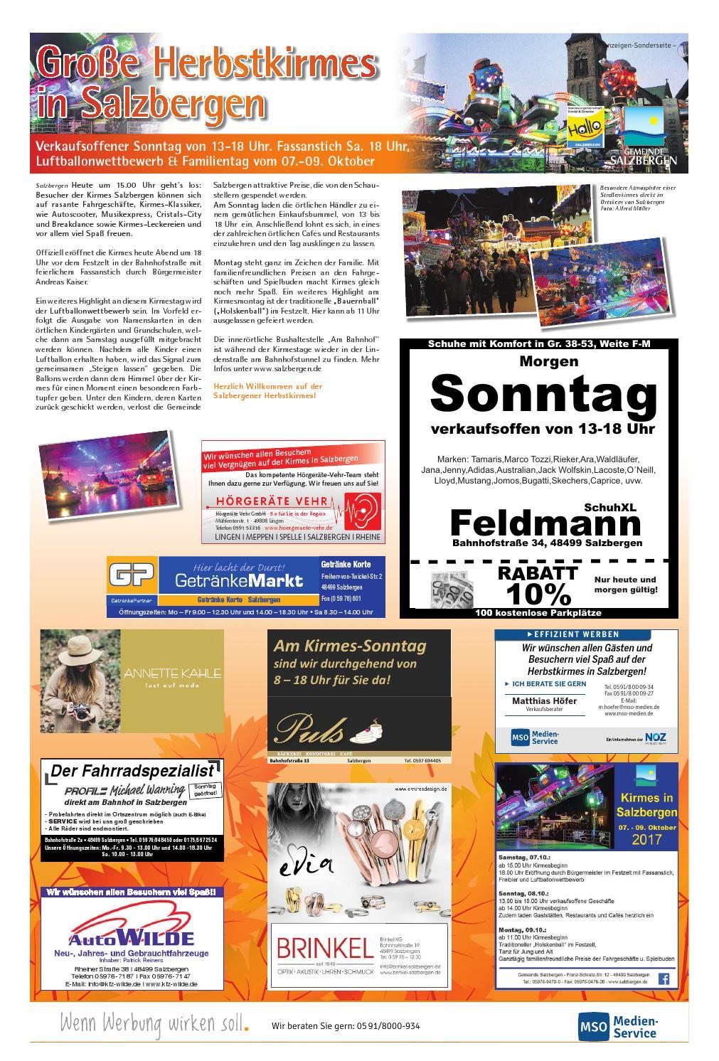 Herbstkirmes Salzbergen 2017 - Lingener Tagespost by Neue ...