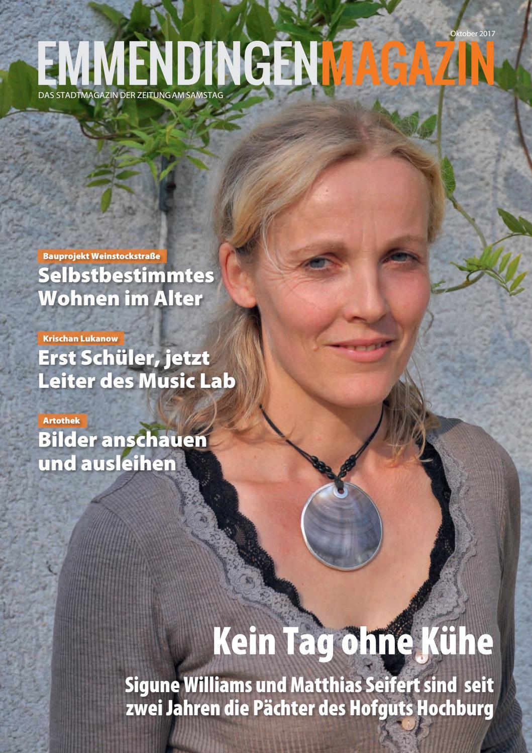 Emmendingen Magazin, Oktober 2017 by ZEITUNG AM SAMSTAG Verlags GmbH ...