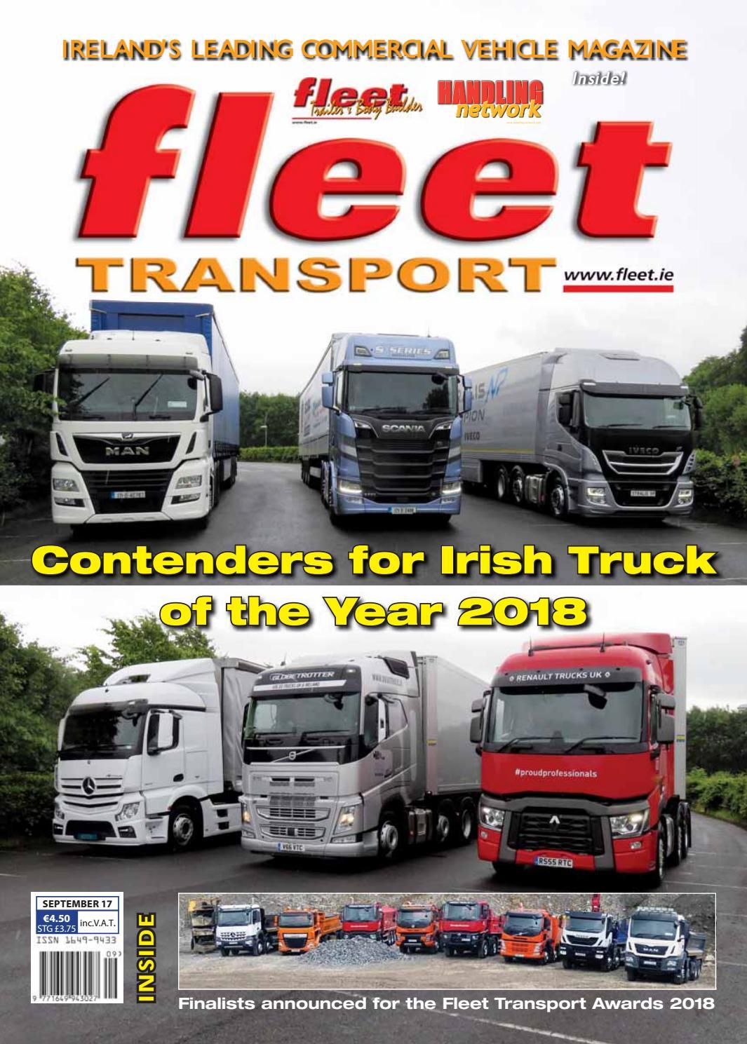 Fleet Transport Sept17 By Issuu Freight Truck Fuel Pump