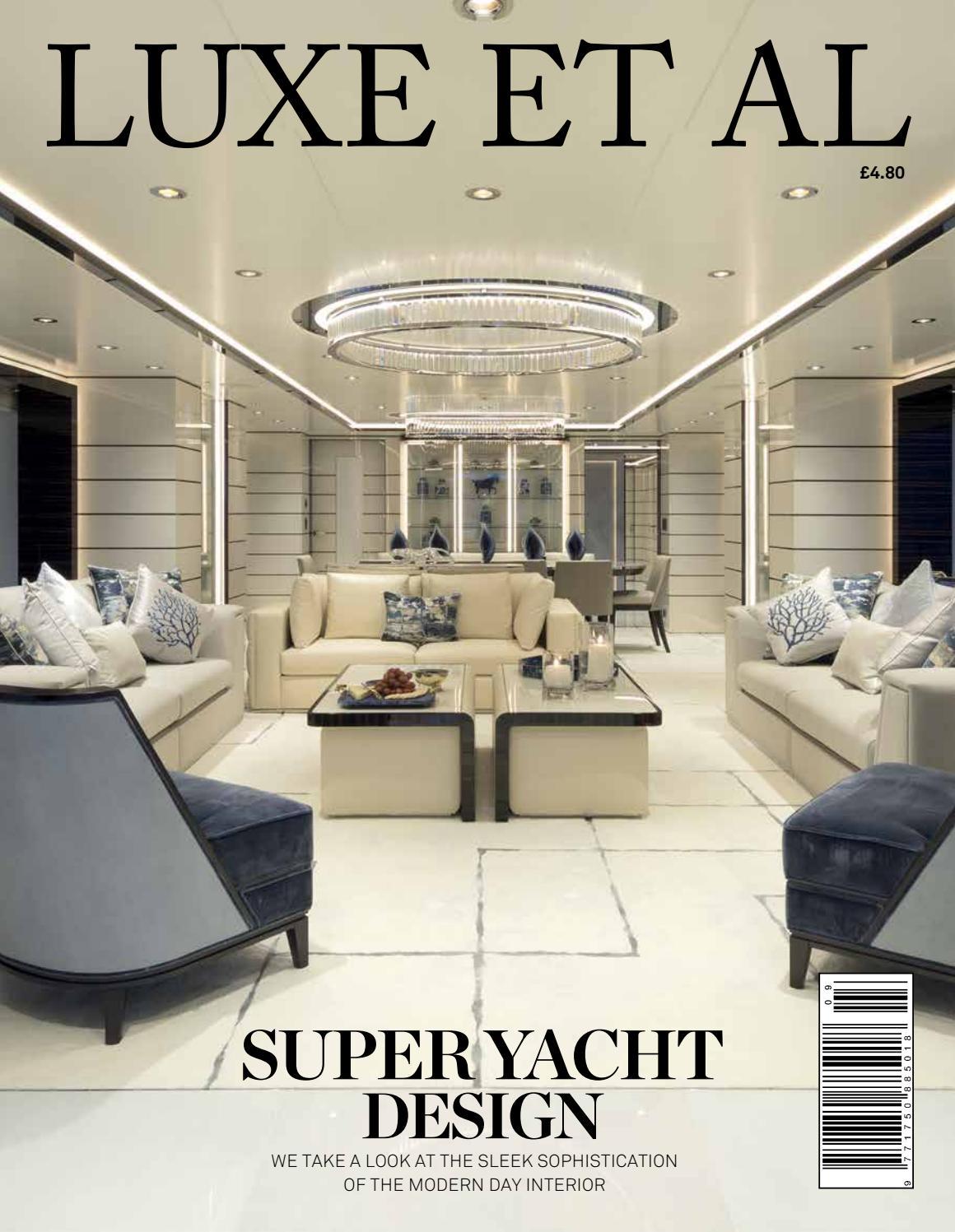 Luxe Et Al Superyacht Design By Issuu Refit Active Single Mono Faucet