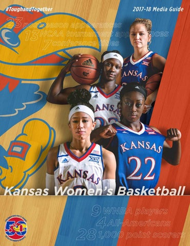 11e909cca8e 2017-18 Kansas women s basketball guide by Kansas Athletics - issuu