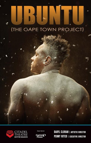 Citadel Theatre playbill - Ubuntu (The Cape Town Project) by