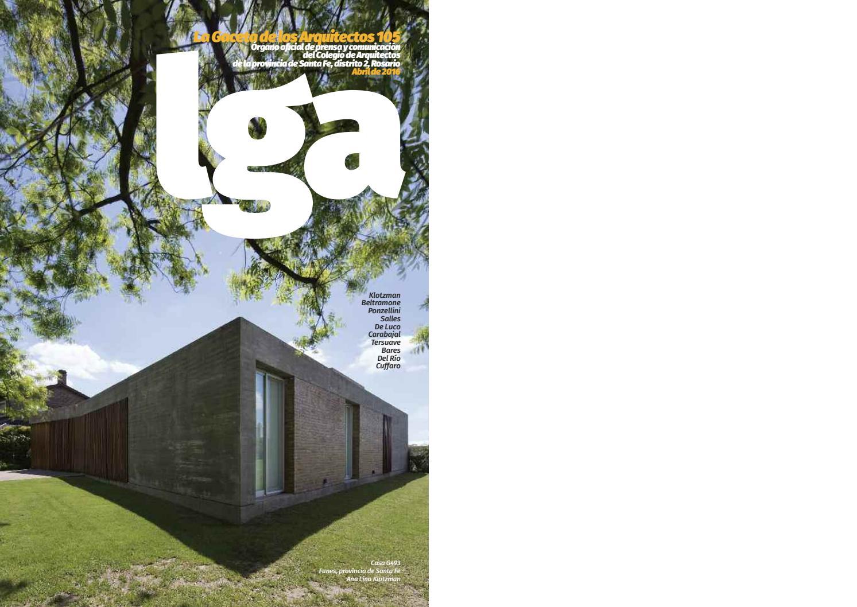 La Gaceta de los Arquitectos by cad2rosario - issuu