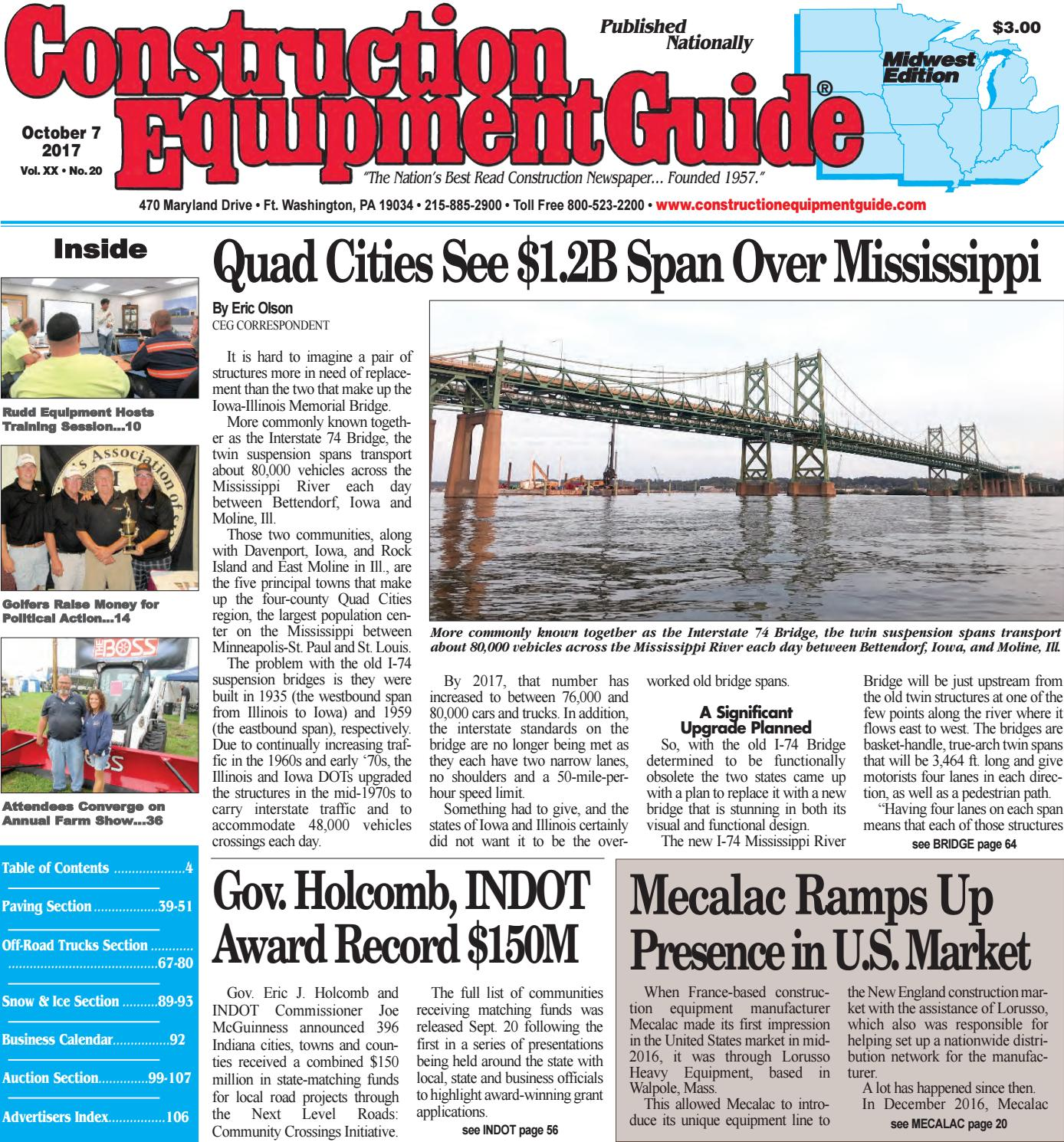 Midwest 20 October 7, 2017 by Construction Equipment Guide - issuu