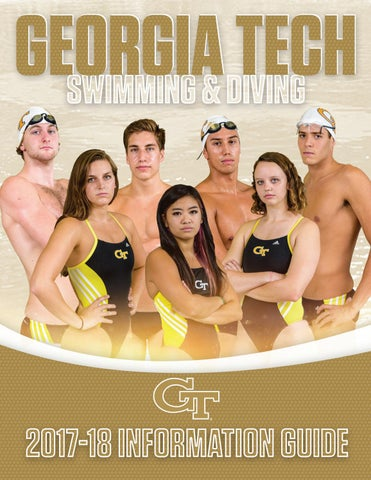 super popular 03f78 1d95e 2017-18 Georgia Tech Swimming   Diving Information Guide