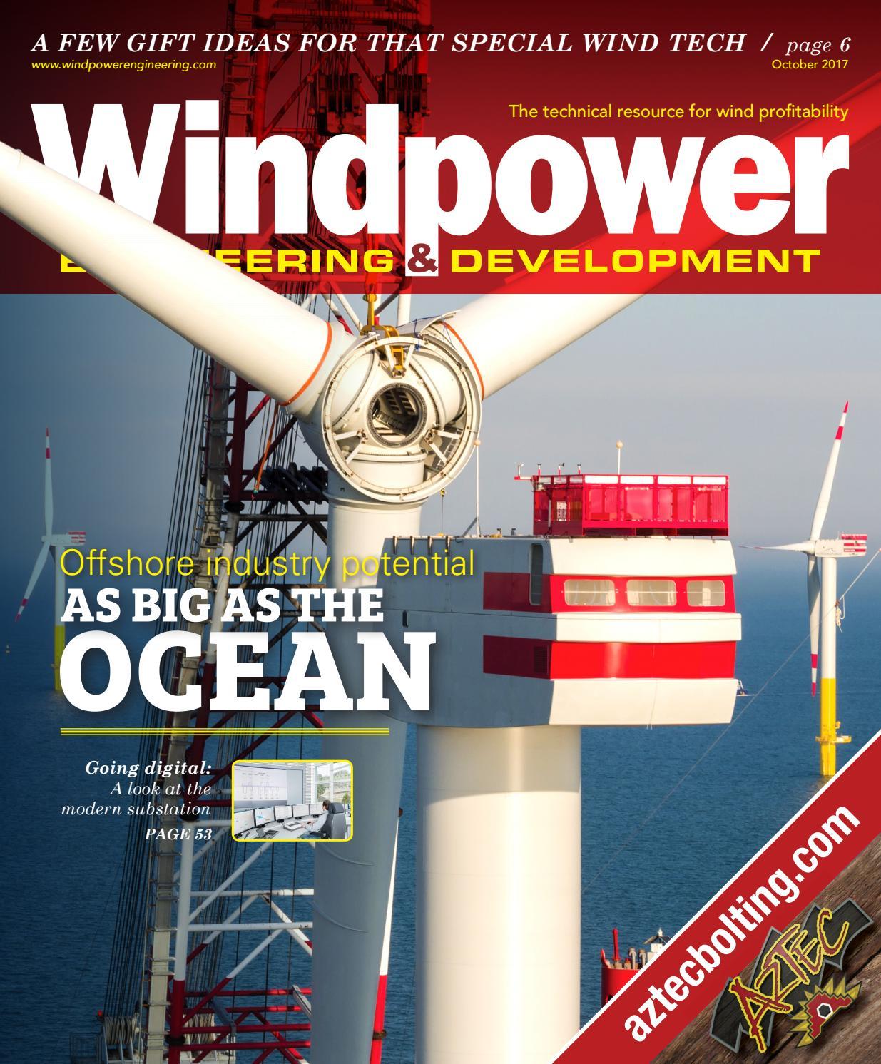 Windpower Engineering Development October 2017 By Wtwh Media Llc Towers Great Rock Issuu