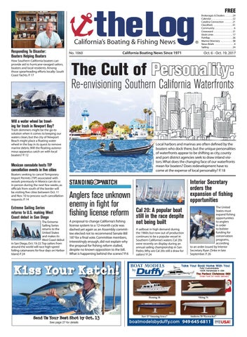 October 6-19, 2017 – The Log Newspaper by Duncan McIntosh Company