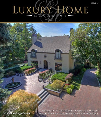 Luxury Home Magazine Park City