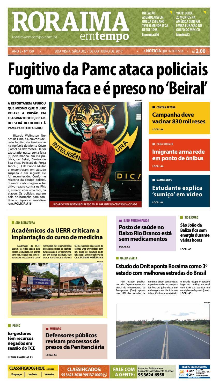 7203c24d979 Jornal roraima em tempo – edição 750 by RoraimaEmTempo - issuu