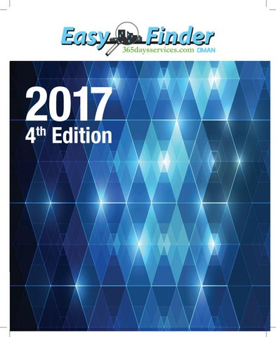 Easyfinder Oman 2016-17 Edition by IBN AHMED UNITED ENTERPRISES