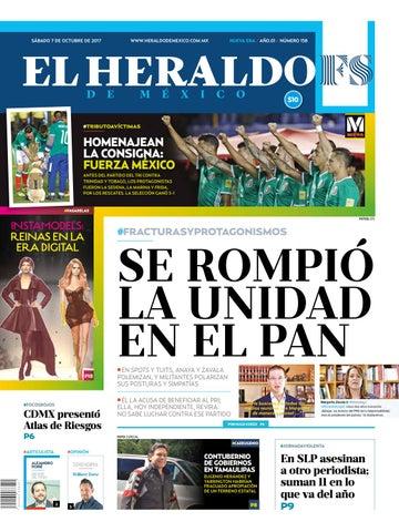 868048595 El Heraldo de México 07 de Octubre de 2017 by El Heraldo de México ...