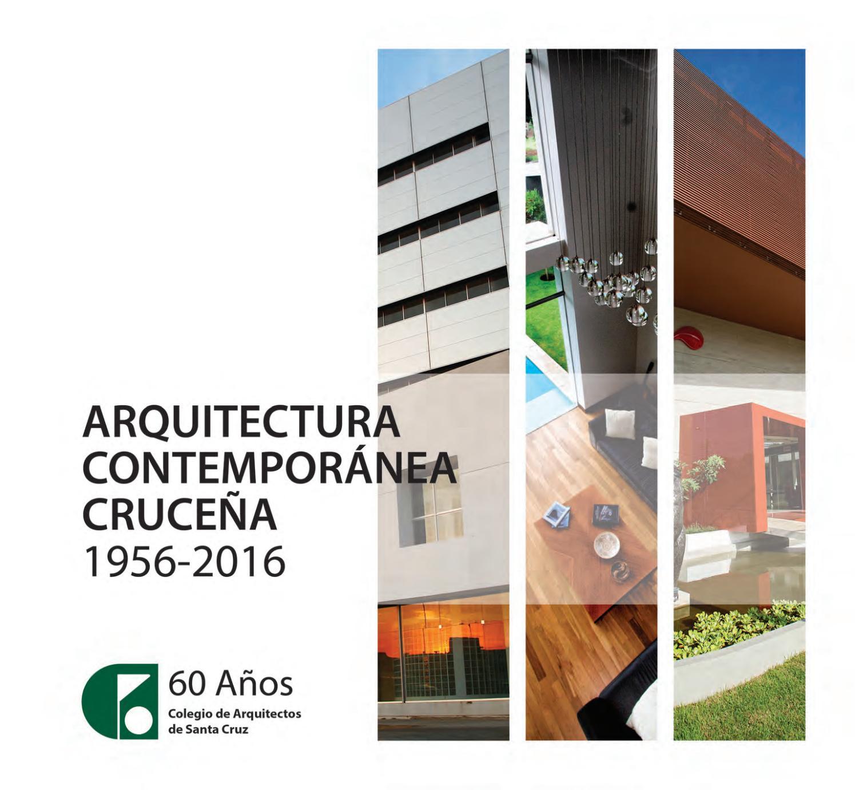I32 A Arquitectura Contempor Nea Cruce A 1956 2016 By