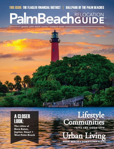 wholesale dealer f2095 748ab Palm Beach Relocation Guide - Fall 2017   Winter 2018 by WEB Media ...