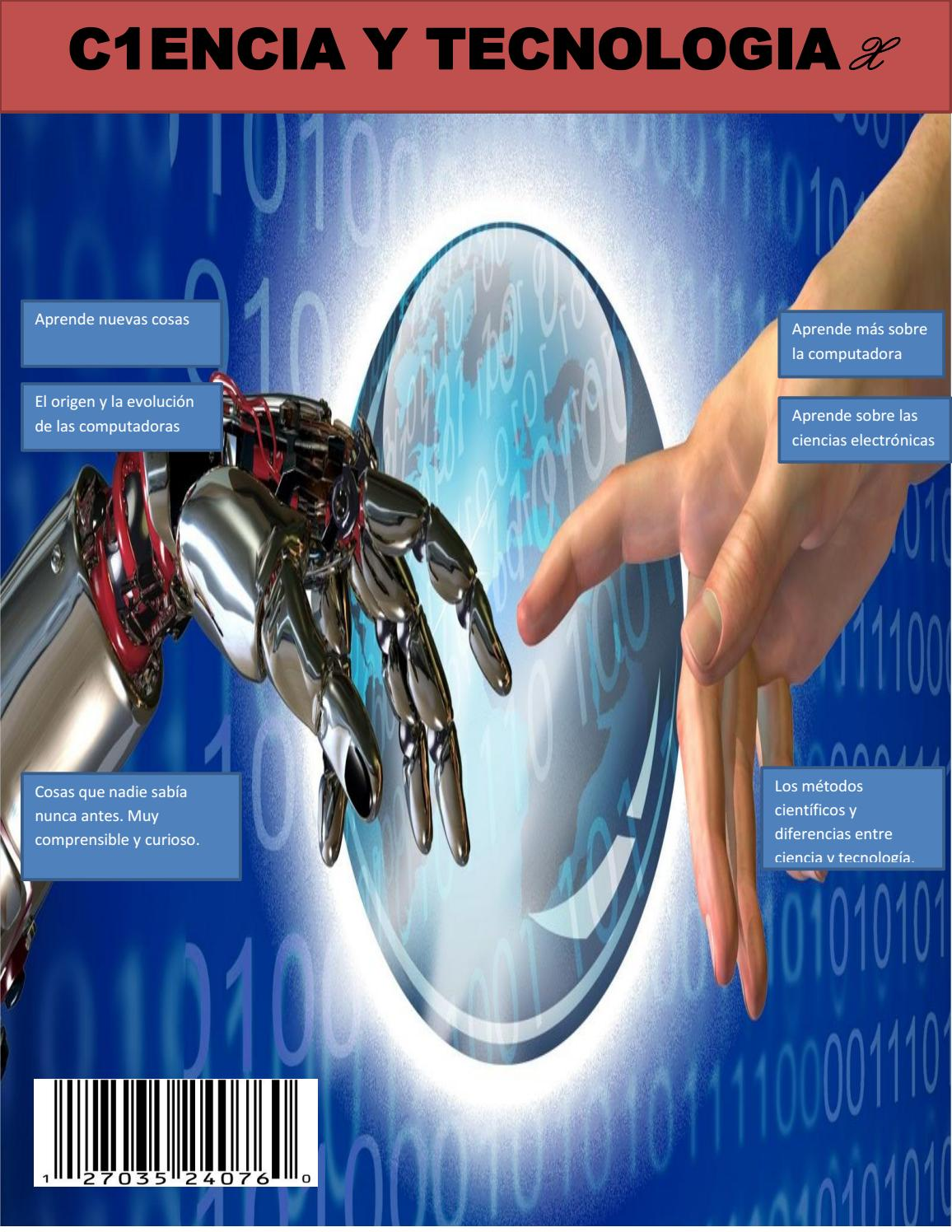 Revista c1encia y tecnología by Max Figueroa - issuu