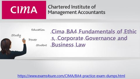 corporate governance exam questions