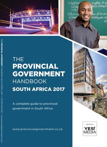 Provincial Government Handbook - South Africa 2017 by Yes