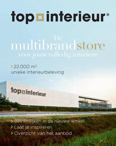 Top Interieur Massenhoven - magazine 2017 by Topinterieur - issuu