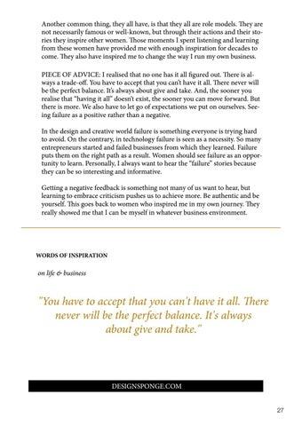 Page 27 of Inspiring women