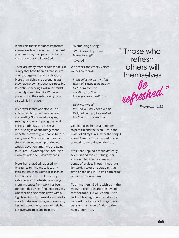 Trinitarian Magazine Issue 3/2017 by Trinity Christian