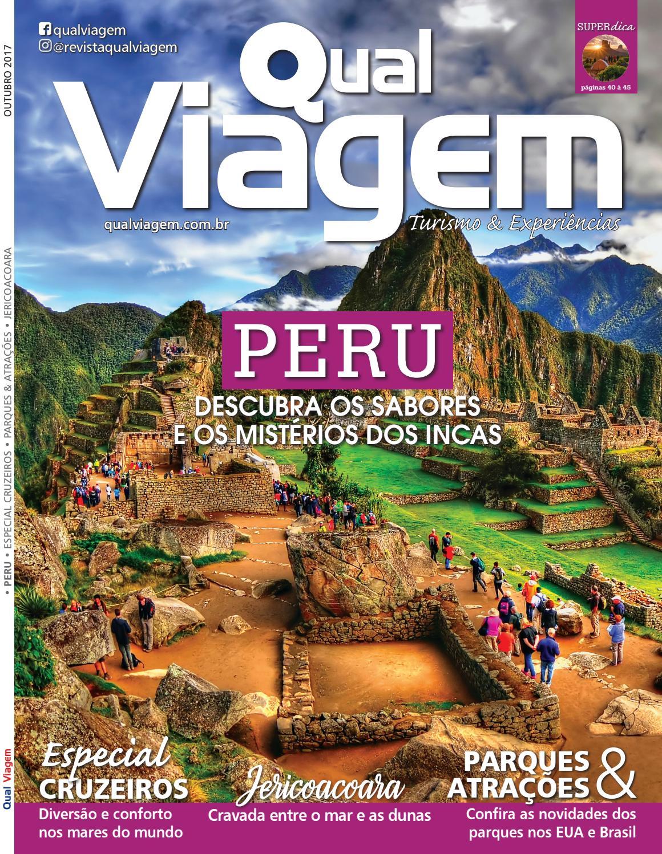 Revista Qual Viagem Edição 47 - Outubro   2017 by Editora Qual - issuu 002f2464ebeec