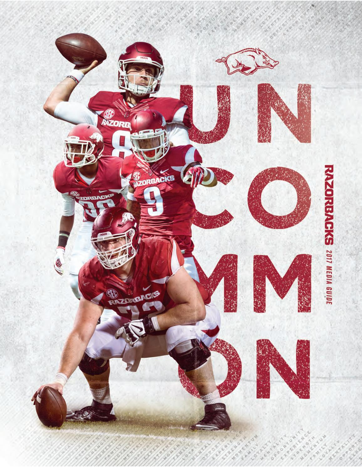 e6acc081c 2017 Univ of Arkansas Football Media Guide by University of Arkansas  Athletics - issuu