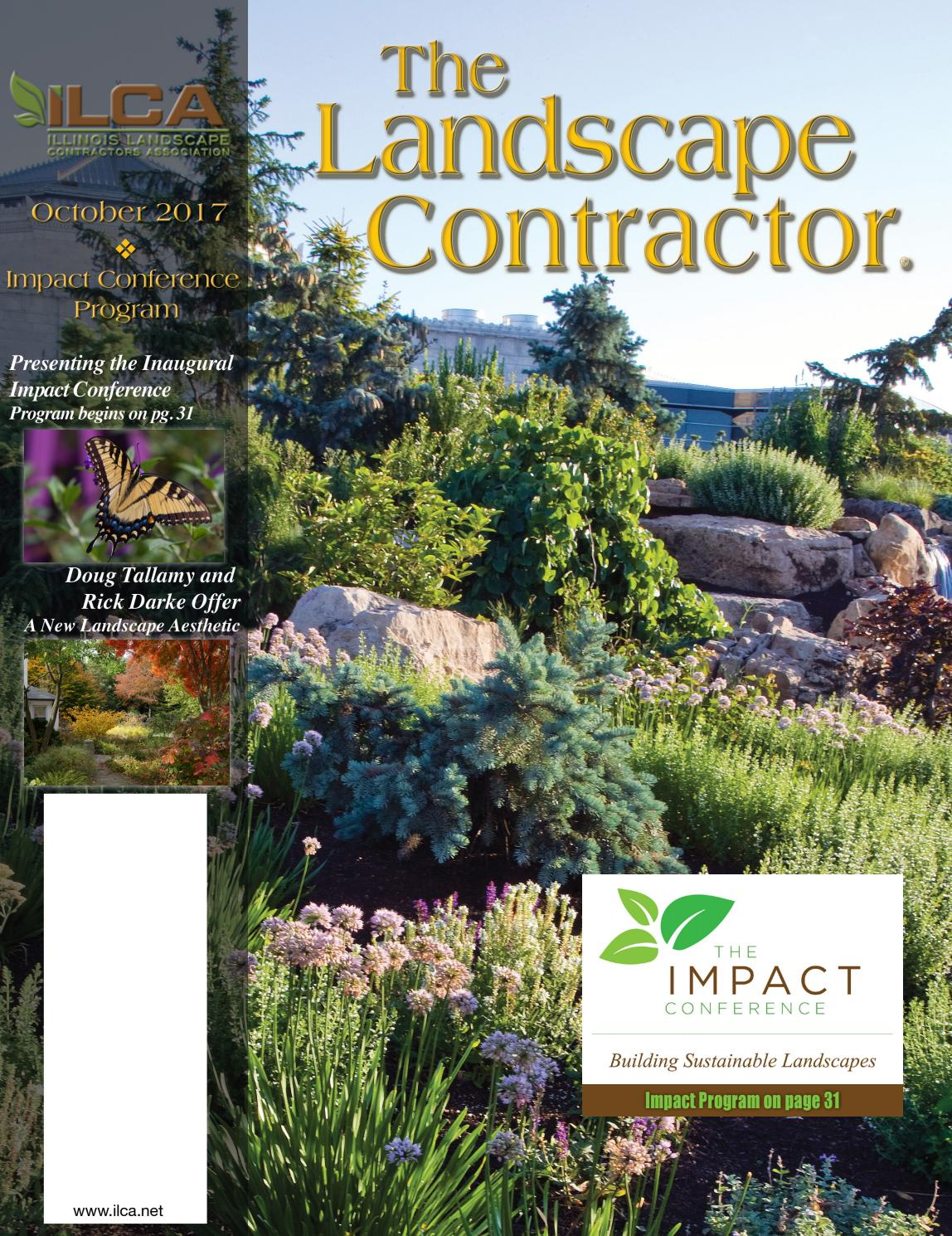 The Landscape Contractor Magazine October 2017 Digital Edition By  # Mutable Muebles