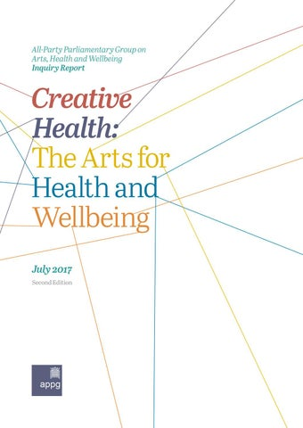 Creative Health Inquiry Report 2017 Second Edition By Alexandra