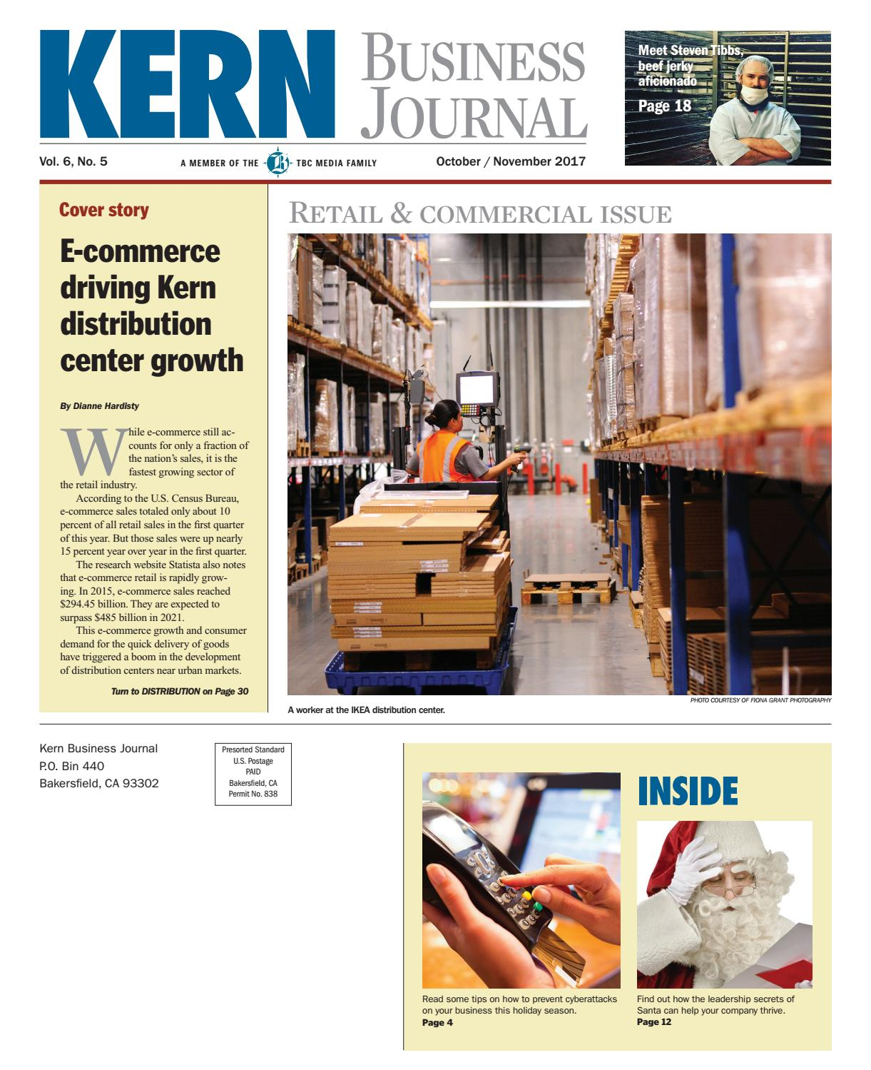 c68595dcfd2 Kern Business Journal October/November 2017 by TBC Media Specialty  Publications - issuu