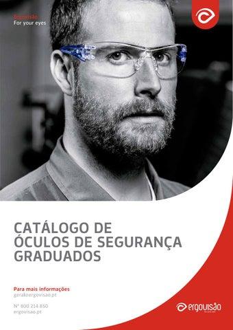 857db2f68 Catálogo de Óculos de segurança graduados by Ergovisão - issuu