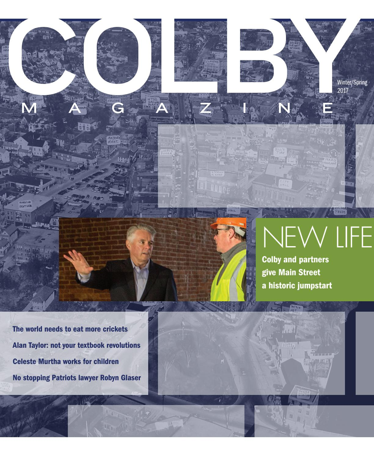 5b9016712a6 Colby Magazine vol. 105, no. 2 by Colby College Libraries - issuu
