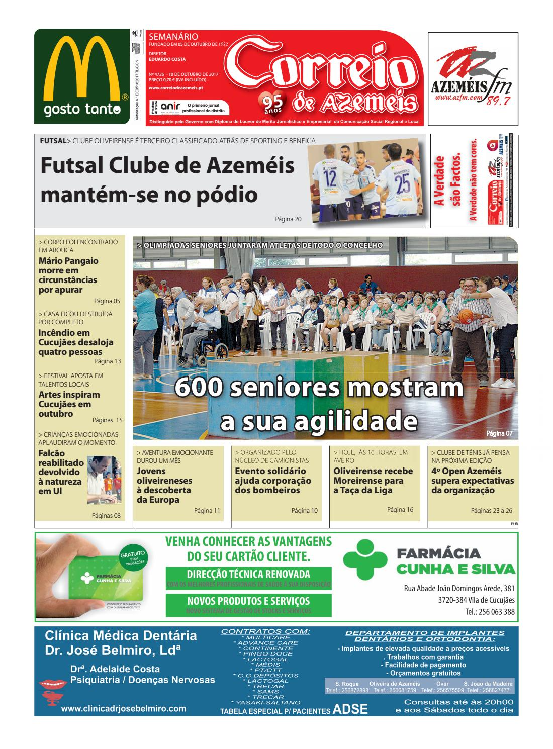 10 10 2017 by Correio de Azeméis - issuu