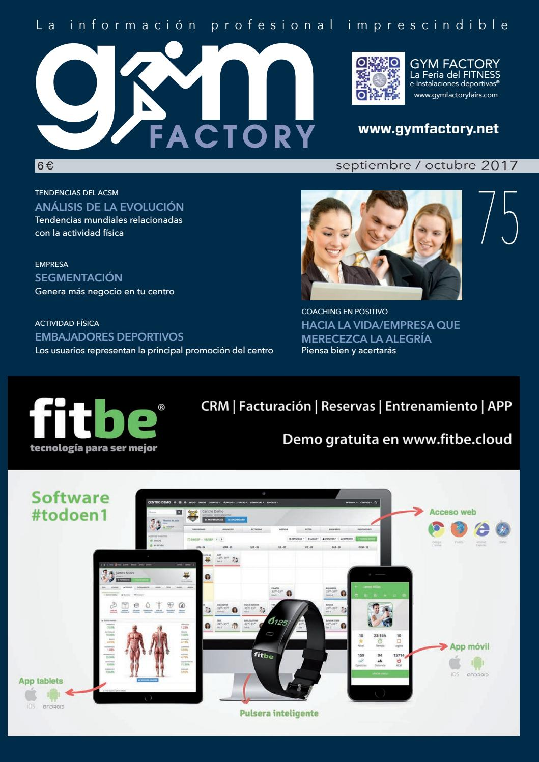 premium selection 9814a 98708 Gym Factory   Gestión nº 75 by Gym Factory Magazine - issuu