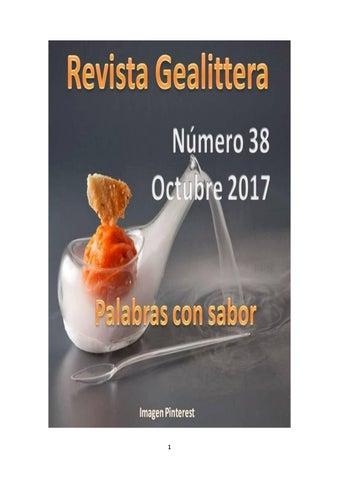 Gealittera 38 by Carmen Membrilla Olea - issuu