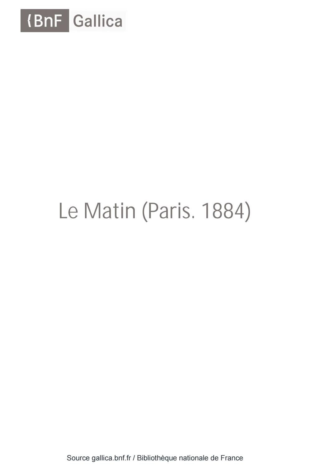 Matin26041931 Le By Issuu Aaleme Président 4AqRL3j5