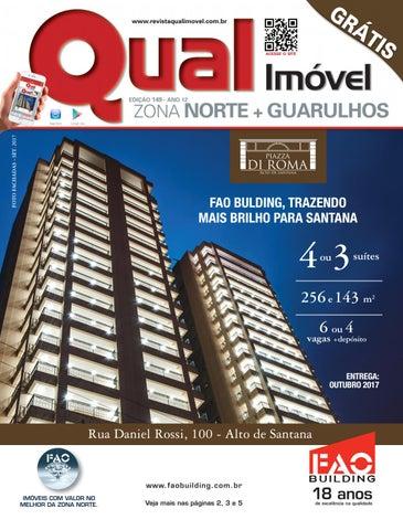 07765e1dc5dc7 Revista Qual Imóvel Zona Norte + Guarulhos Ed.146 - Julho   2017 by ...